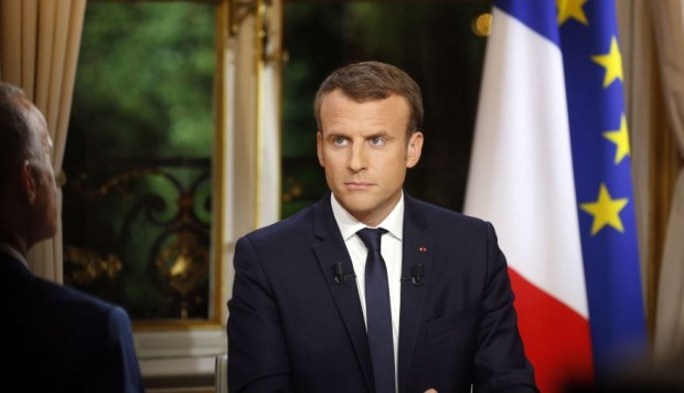 Macron anunció medidas para frenar la protesta