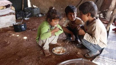 Más de 1,5 millones de chicos pasan hambre en Argentina