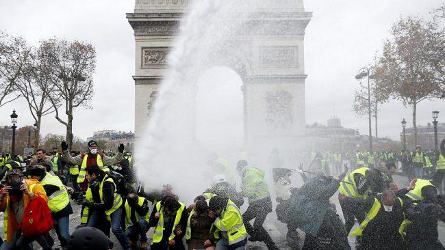 La ira del pueblo francés