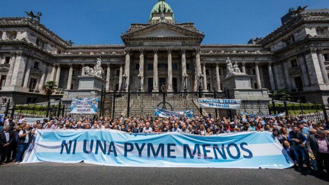 Pymes alertaron en el Congreso sobre la crisis