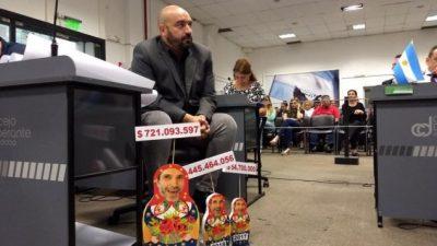 Con críticas, el intendente de Córdoba ya tiene su último Presupuesto