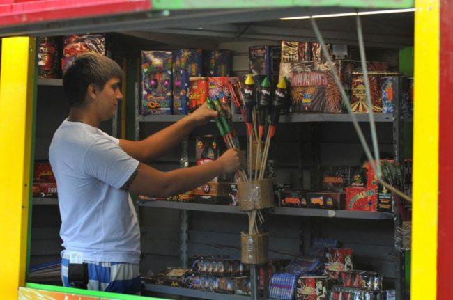 Sólo se va a poder vender pirotecnia en siete municipios mendocinos