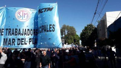 Extienden la conciliación entre el Ejecutivo y los municipales de Mar del Plata