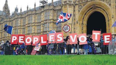 May posterga la votación del Brexit ante la falta de apoyo