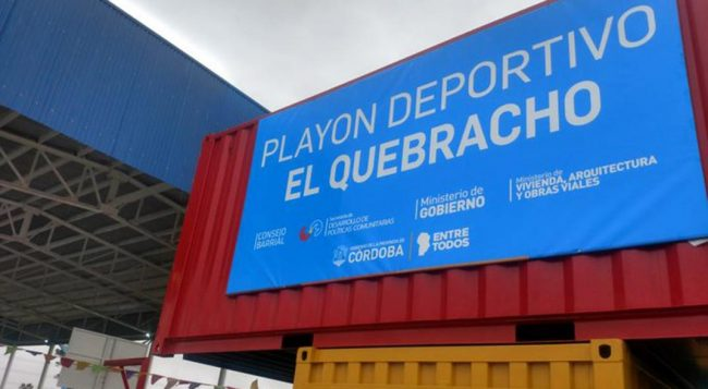 La Provincia de Córdoba inyecta $ 2 mil millones en barriosde Capital