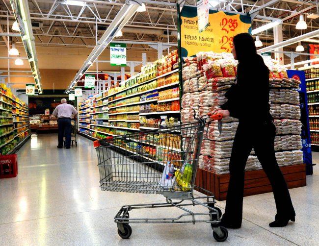 Se desinfla el consumo en supermercados
