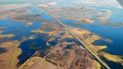 Para prevenir inundaciones en la región de Venado Tuerto, estudiarán canales y cuencas