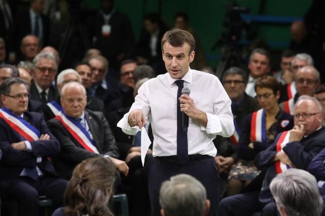 Francia: El gran debate no arrancó bien