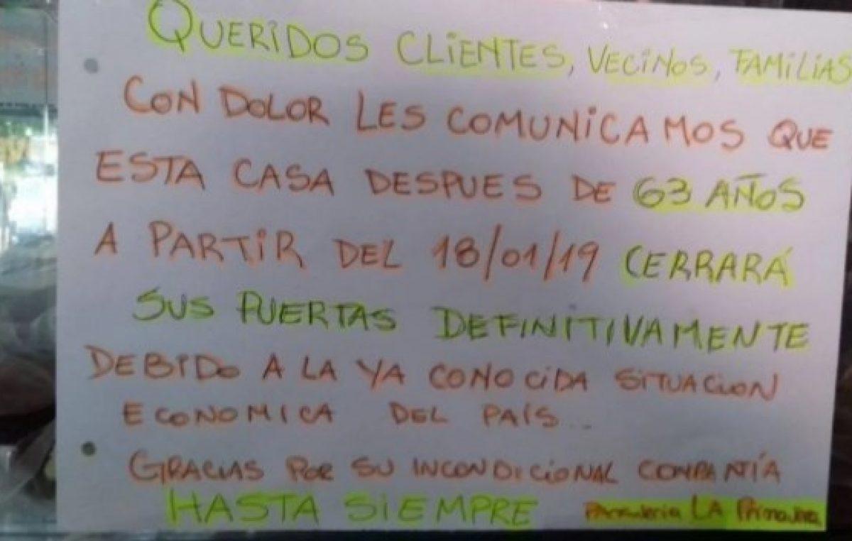"""La crisis golpeó a una histórica panadería en La Plata: """"Tenemos que cerrar porque estamos sufriendo"""""""