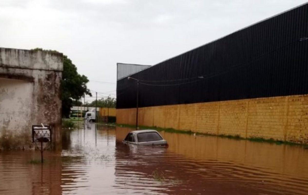 """Se volvió a inundar Pergamino y lo atribuyen a """"negocios inmobiliarios"""" autorizados por la Municipalidad"""