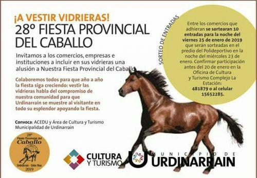 Urdinarrain se prepara para la 28º Fiesta Provincial del Caballo