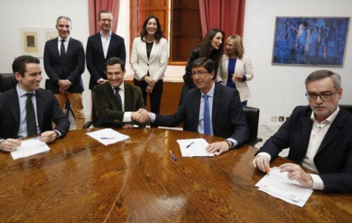La derecha española gobernará Andalucía