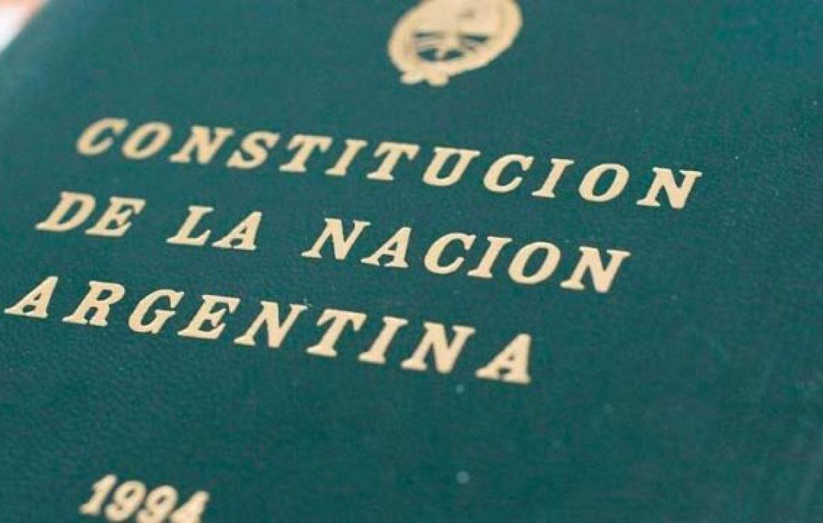 Constitución Nacional y trasnochamientos