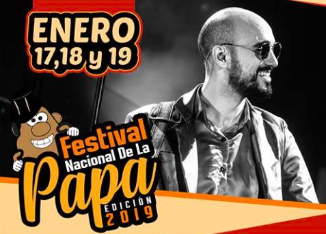 Festival Nacional de la Papa en su 28° presentación, llega al Valle de Traslasierra.