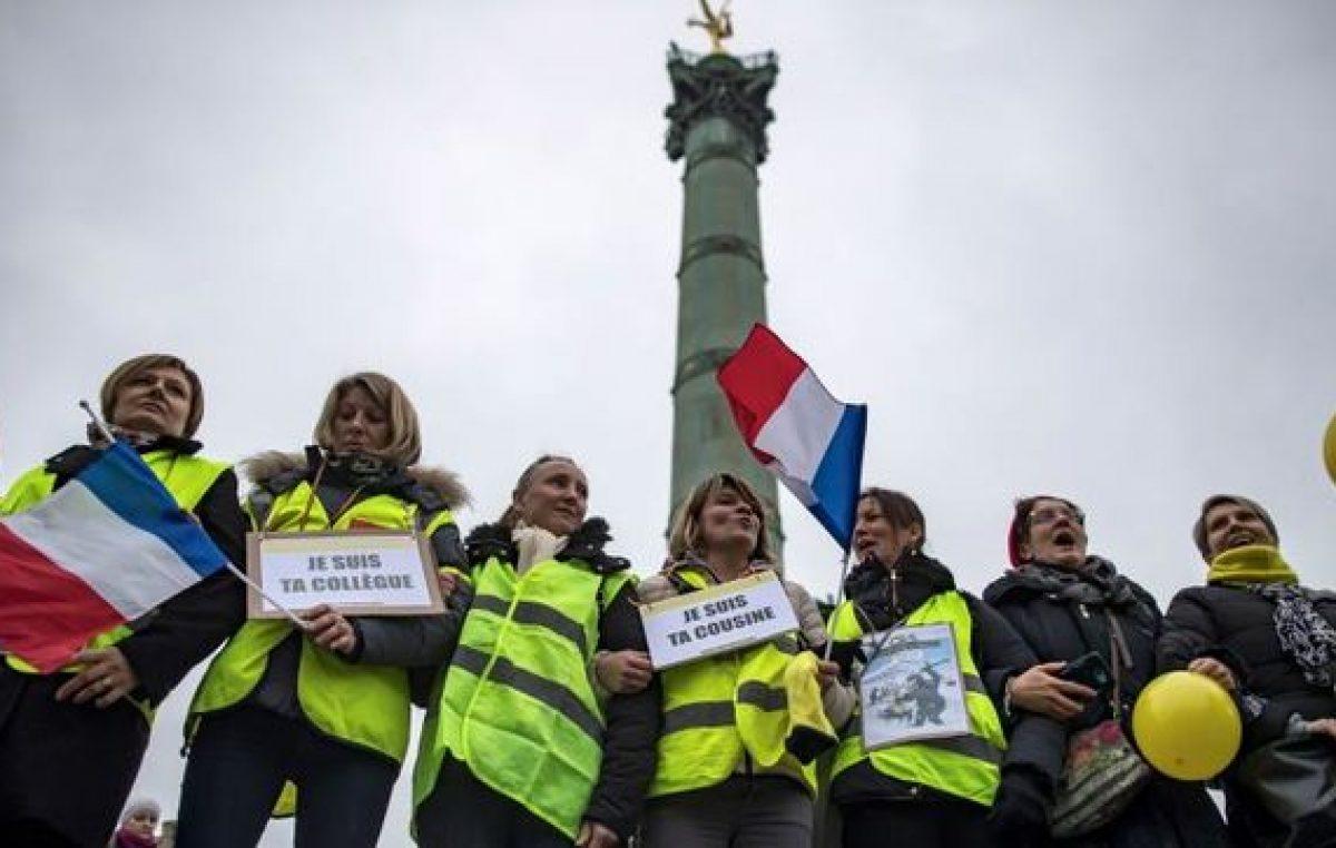 La protesta amarilla llegó para quedarse
