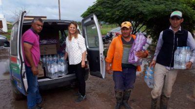 Solidaridad de Municipales con inundados del Norte Santafesino