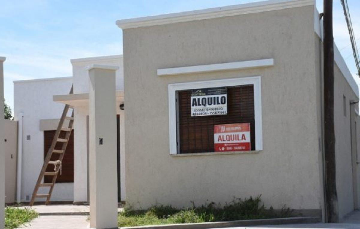 Por los costos y los requisitos que piden, abundan las casas en alquiler en el centro de Río Cuarto