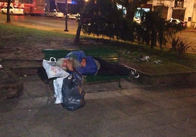 Se registró un aumento de personas en situación de calle en Paraná