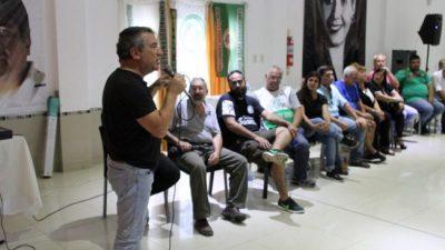 Solanas y Urribarri encabezaron un encuentro con más de 50 sindicatos de Entre Ríos