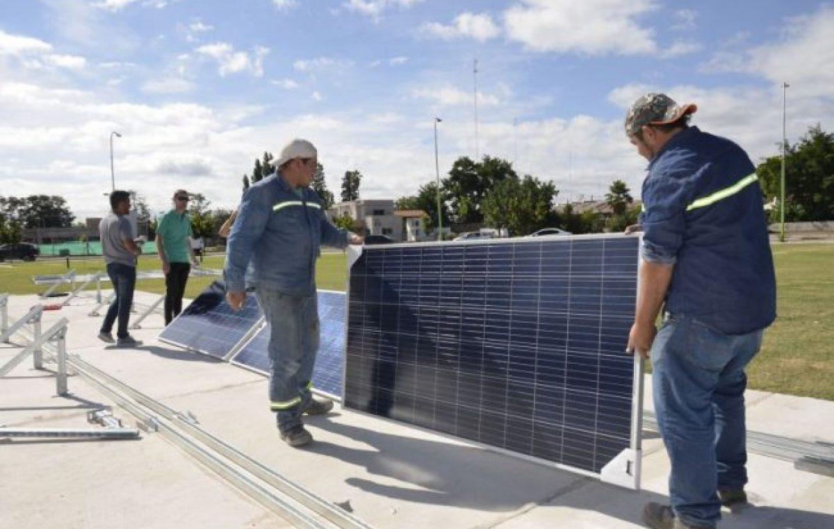 La comuna de Junín tomará su energía de paneles solares