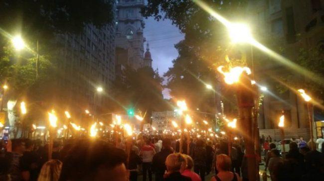 El jueves 17 se realizará la Marcha de las Antorchas en Rosario