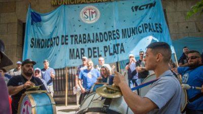 Se intensifica el conflicto: los municipales de Mar del Plata continuarán con la retención de tareas