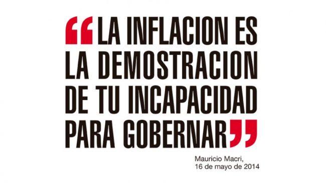 LA INFLACION DE 2018, 47,6%, ES LA MAS ALTA DESDE 1991