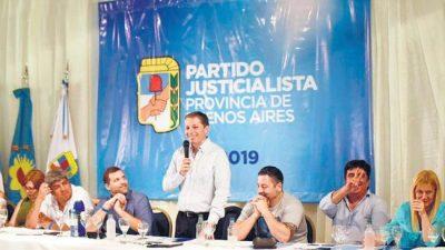 El peronismo bonaerense celebró