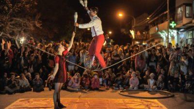 Noche de las Artes, enero,San Martín de los Andes