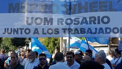 La UOM Rosario advierte que hay 5 mil empleos en riesgo