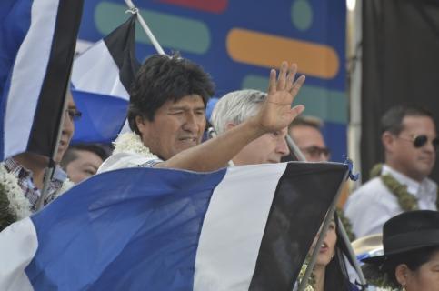 Evo Morales promulga histórica Ley del Sistema Único de Salud