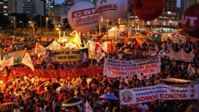 Hay 12,7 millones de desocupados en Brasil