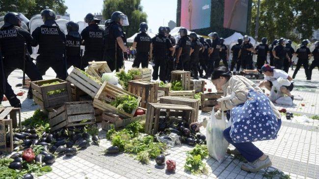 El Verdurazo llega a la Plaza de Mayo