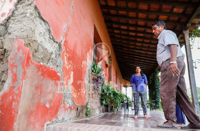 Salta: Dejada en el olvido, la casa de Güemes se derrumba de a poco