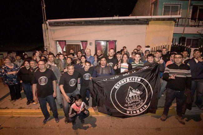 El Municipio de Ushuaia brinda su apoyo a los 'Desempleados en Movimiento'