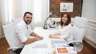Cristina y el intendente de Ushuaia con la unidad como objetivo