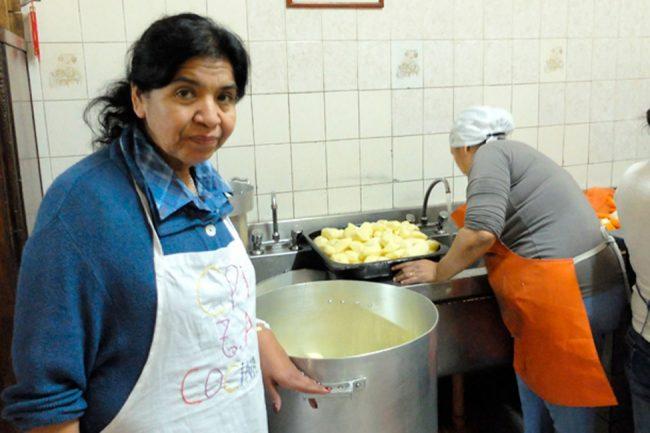 """Margarita Barrientos: """"Macri debe cambiar muchas cosas, no quiero seguir abriendo comedores"""""""