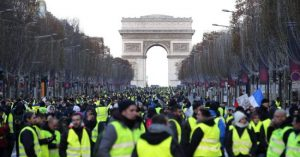 Tercer mes de movilizaciones en Francia
