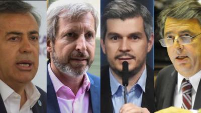 Mestre mandó al frente a Peña, Frigerio y Cornejo: le pidieron que retire su candidatura
