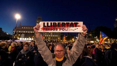 """Madrid: """"La autodeterminación es un derecho, no un delito"""""""