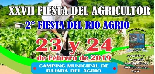 Los agricultores tendrán su fiesta en Bajada del Agrio