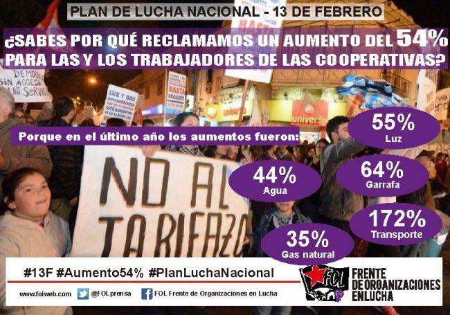 Movimientos sociales junto a sindicatos marcharán en todo el país contra la crisis económica y social