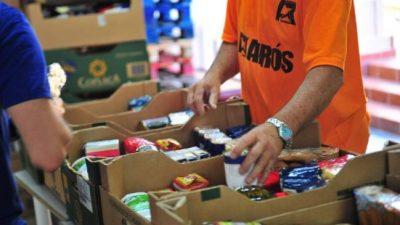 Con un fin solidario: desarrollarán un banco de alimentos en San Juan