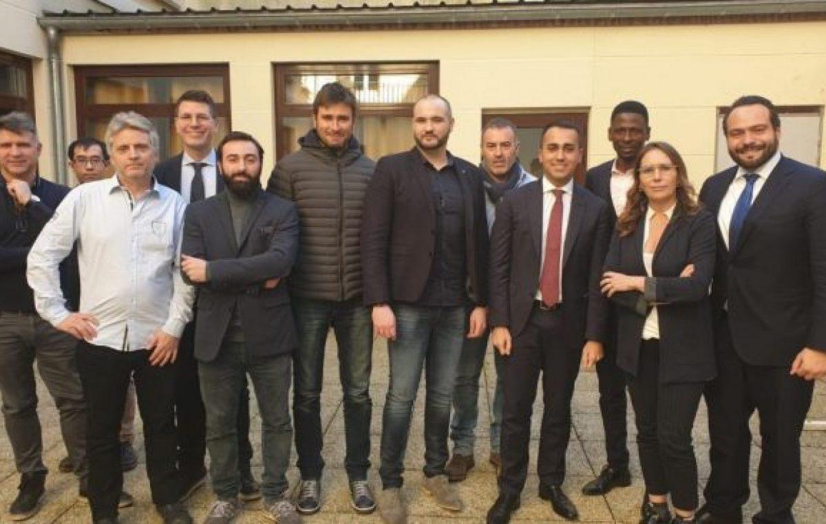 Macron, Di Maio y los chalecos amarillos
