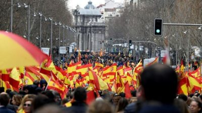 La derecha española escenifica unidad