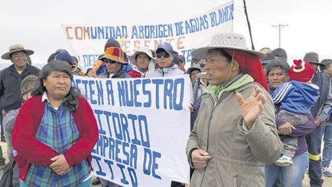 "Litio y ""sacrificio ambiental"" en Jujuy"