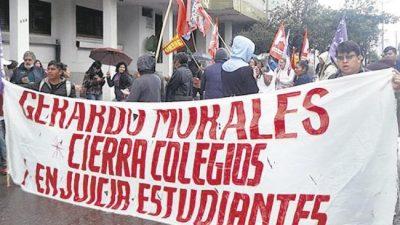 Jujuy: Condenados por protestar