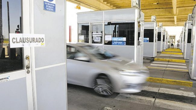 Carcarañá: Ruta en mal estado, peaje que se cierra