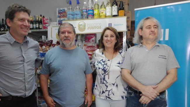Más de 70 productos y almacenes rosarinos en Precios justos, con un ahorro de 14%
