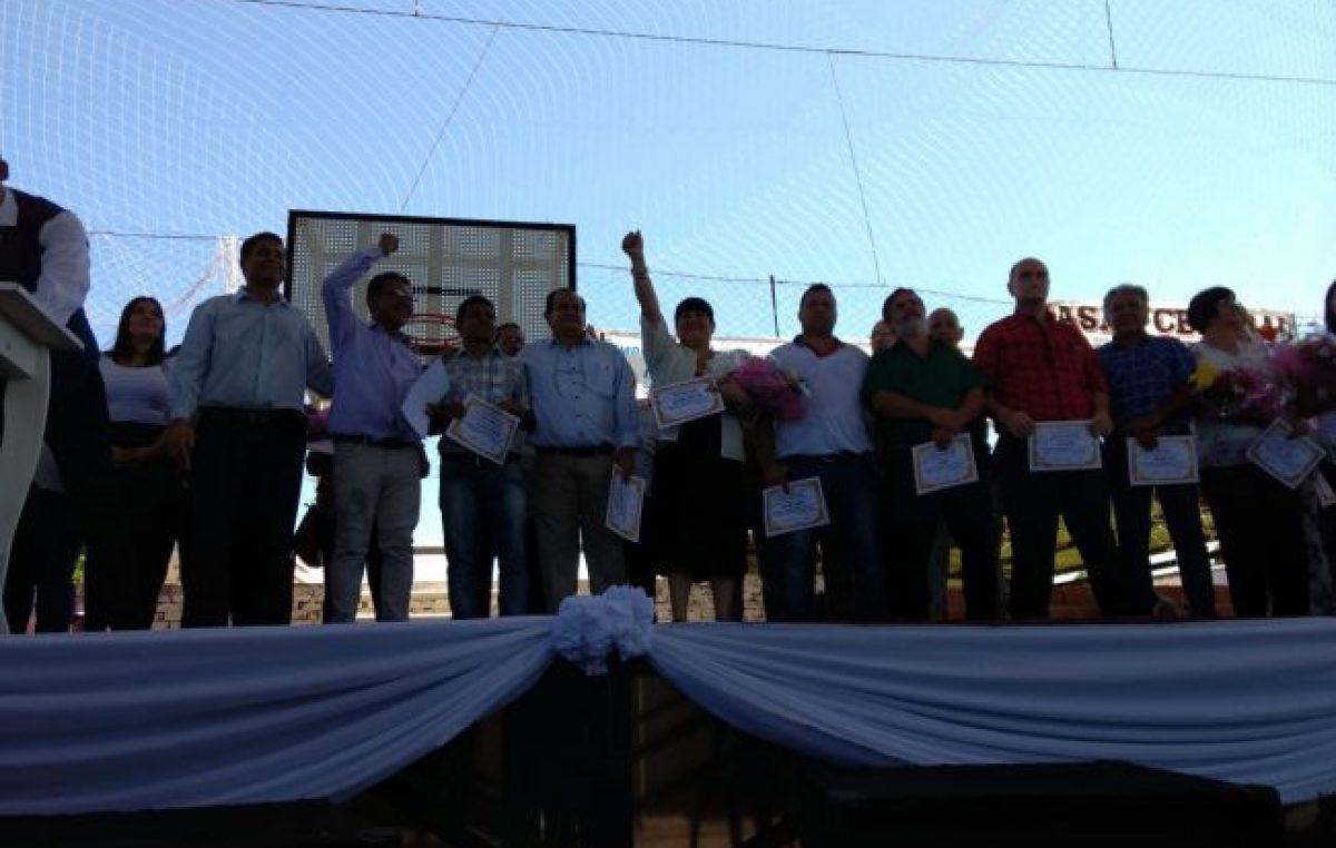 Asumieron las nuevas autoridades del Sindicato de Obreros y Empleados Municipales de Posadas